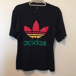 Never worn adidas logo tee